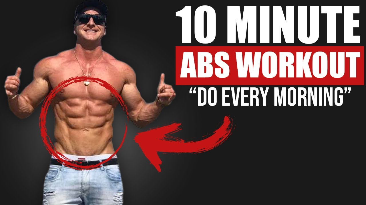 10 MIN HOME ABS WORKOUT! (NO EQUIPMENT NEEDED!)