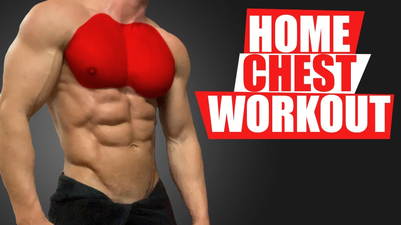 HOME CHEST WORKOUT! (GROWTH TIPS!)