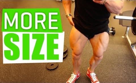 5 TECHNIQUES FOR MORE LEG SIZE!