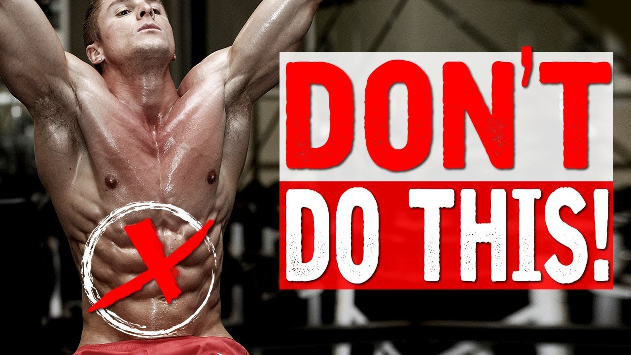 3 REASONS YOUR ABS WON'T SHOW!