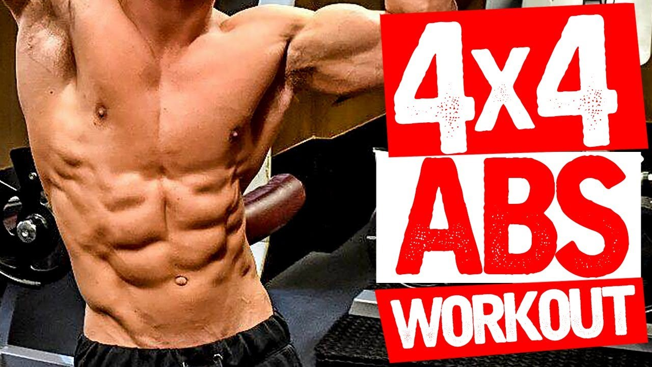 Abs Workout! (QUICK 4X4 CIRCUIT!)