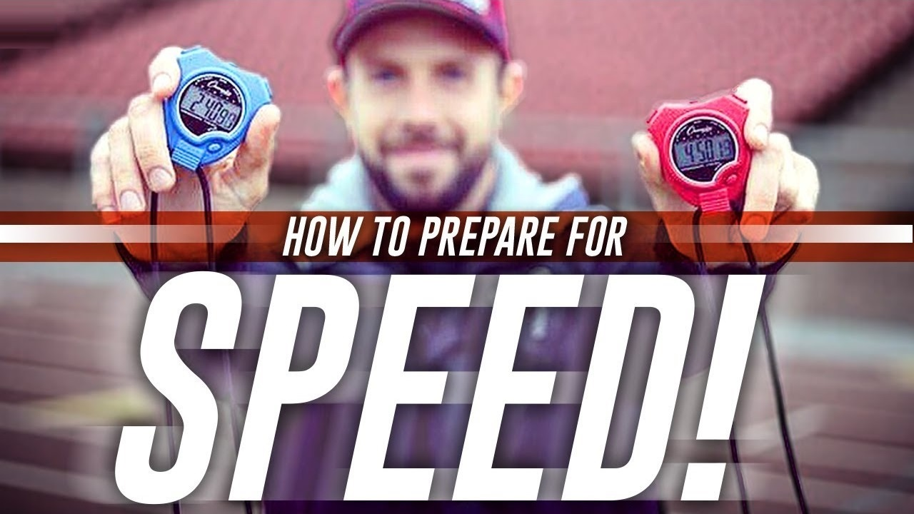 How To Prepare For Speed & Run Faster: 3 Running Exercises