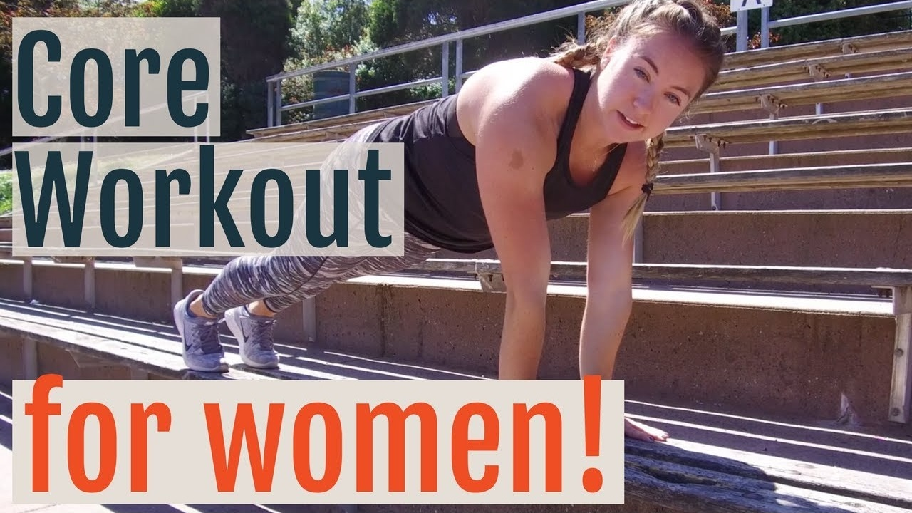 Favorite Core Workout for Female Runners