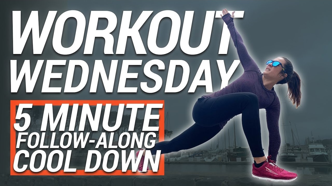 Workout Wednesday | 5 Minute Follow-Along Cool Down
