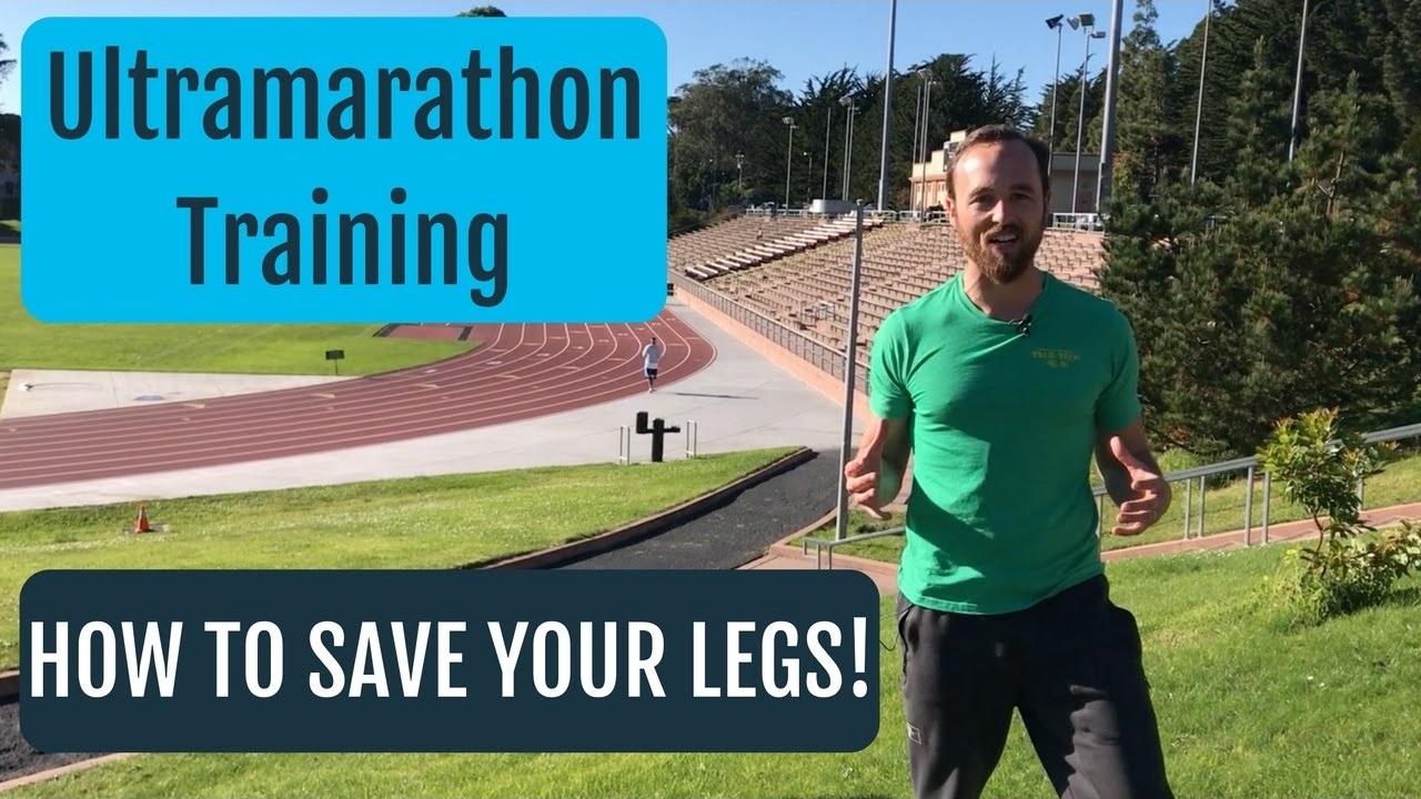 Training For An Ultramarathon   Use This Leg Saving Tip!