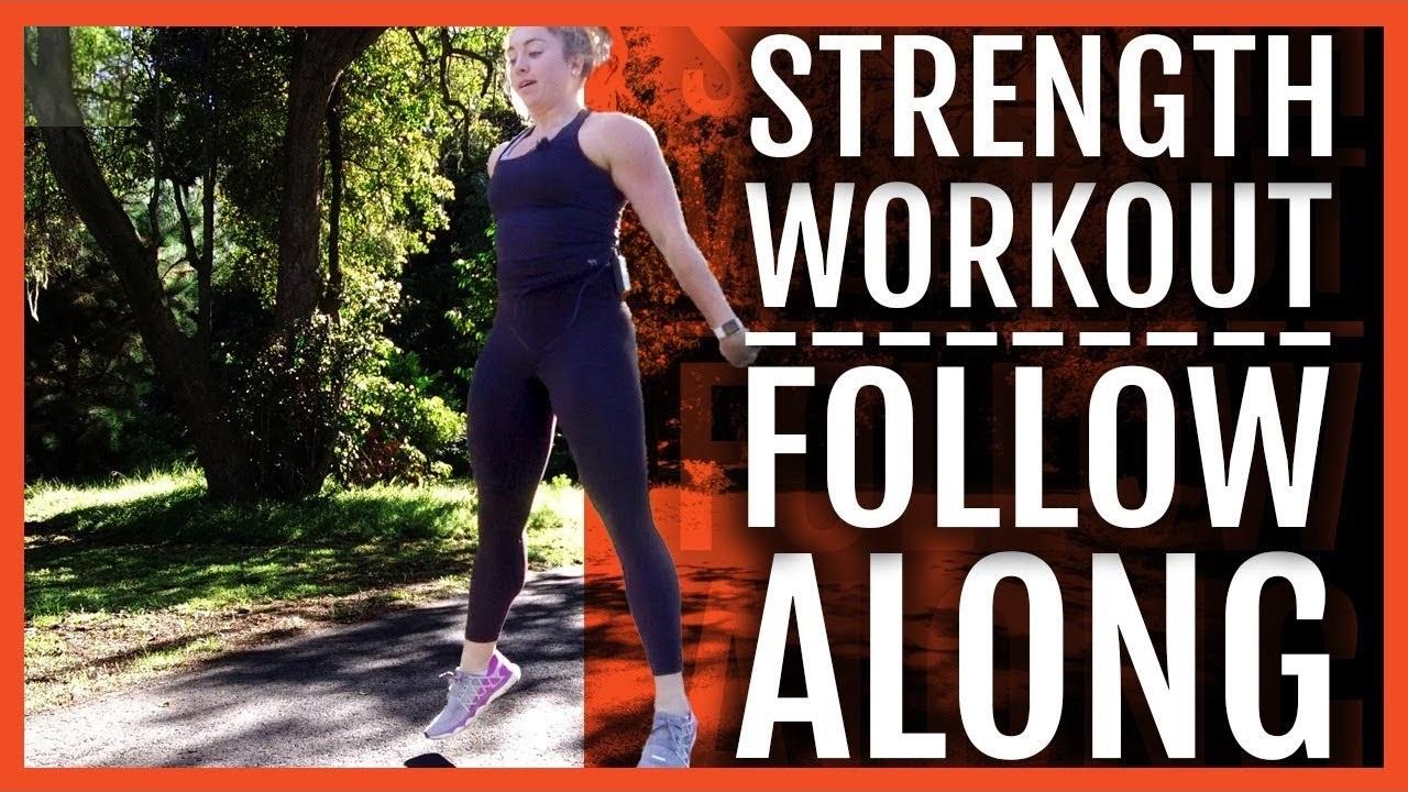 Follow Along Running Strength Workout