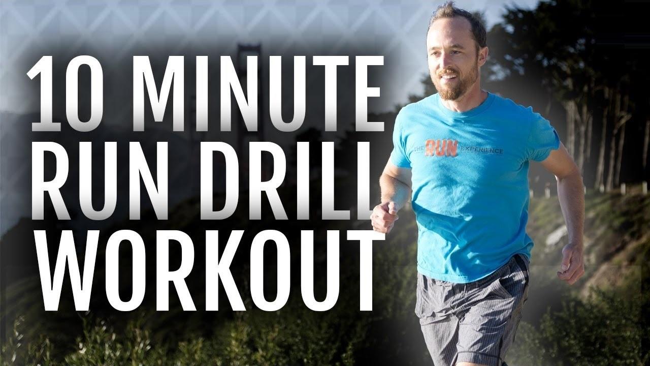 Follow Along 10-Minute Run Drill Workout