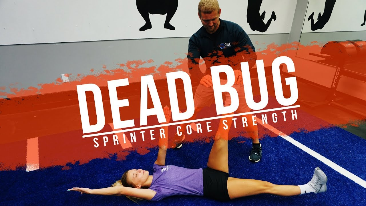 Sprinter CORE Strength | The DeadBug