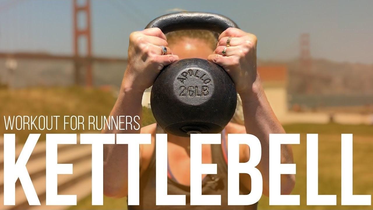 Follow Along Kettlebell Workout for Runners