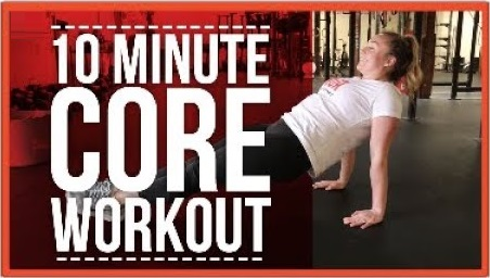 10 Minute Core Workout For Runners!