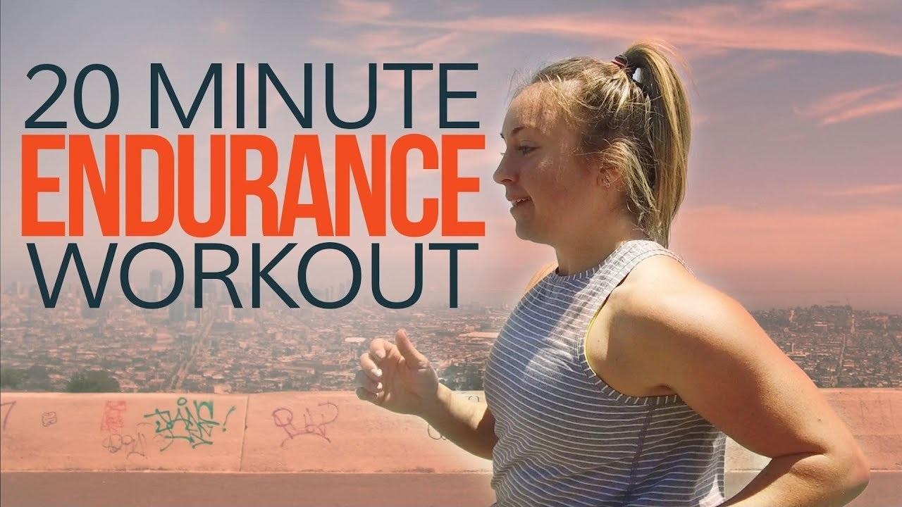 20 Minute Endurance Running Workout [Follow Along]