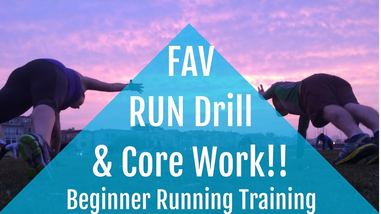 Beginner Running Training | Our FAVORITE Run Drill & Core Exercise