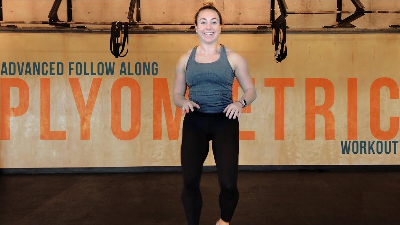 Advanced Follow Along Plyometric Workout
