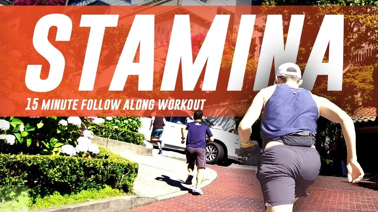 15-Minute Follow Along Incline Running Workout To Build Your Stamina