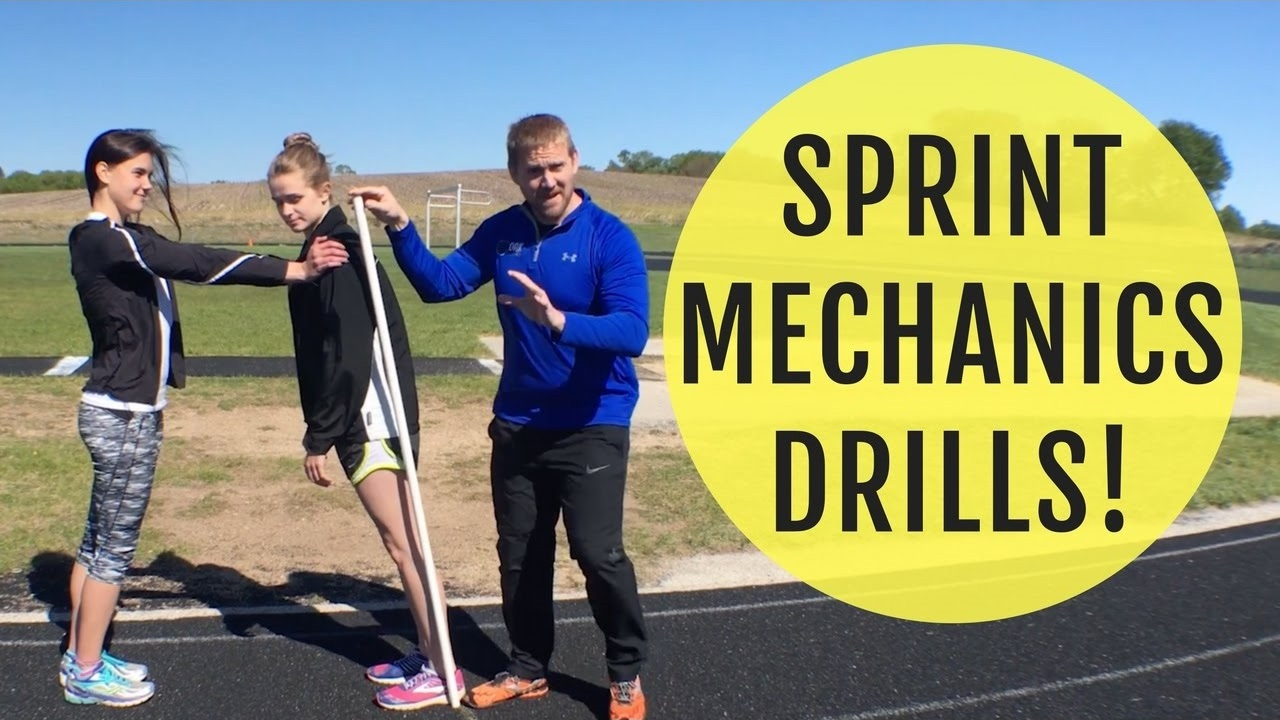 Sprint Mechanics Drills | How To Lean For Speed
