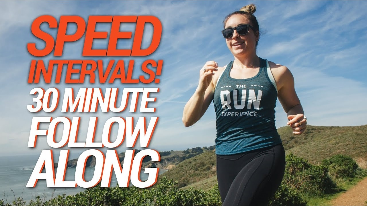 30-Minute Follow Along Workout | Intervals to Boost Your Speed!