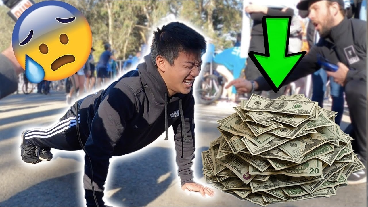 The $500 Push-up Challenge | How Many Push-ups Can Runners Do?