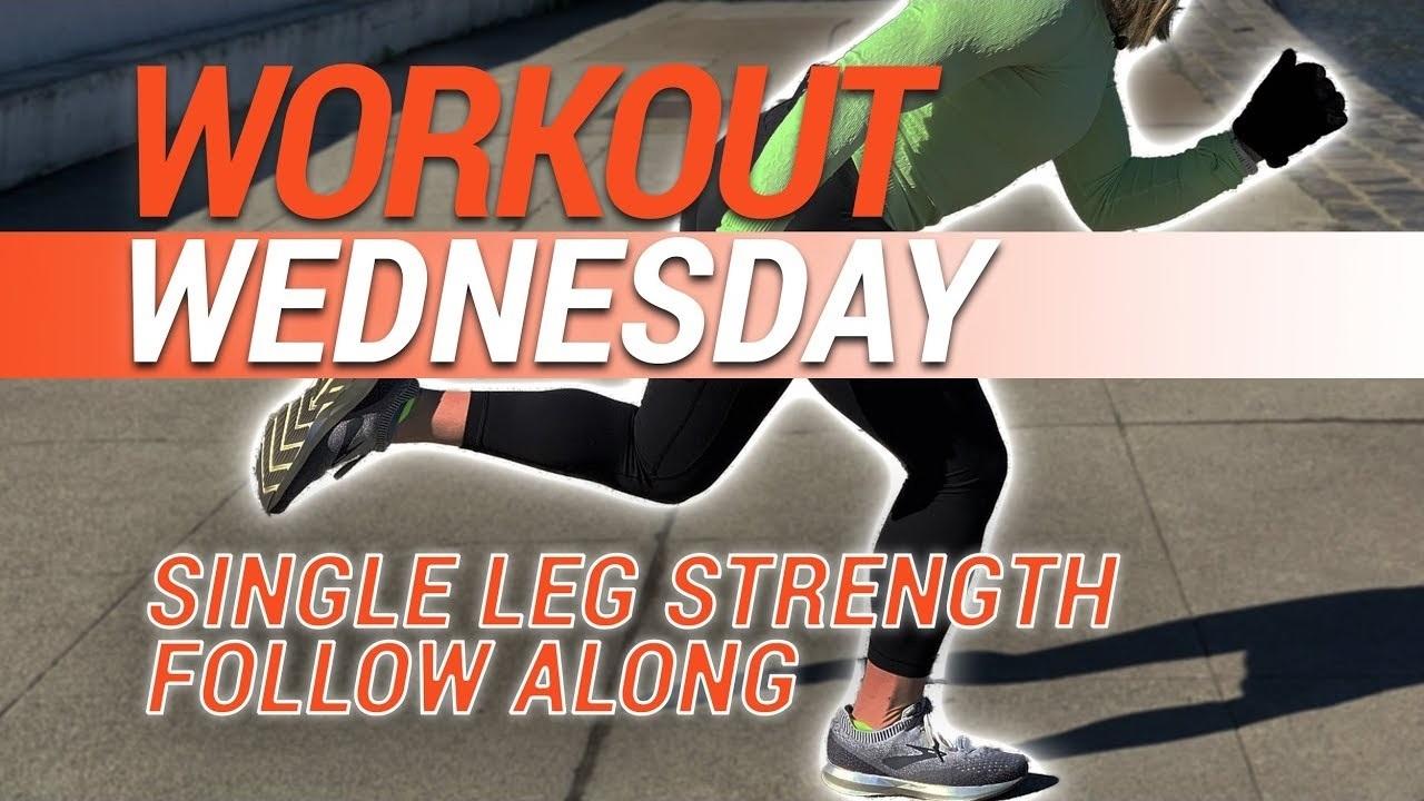 Workout Wednesday | Single-Leg Strength Follow Along