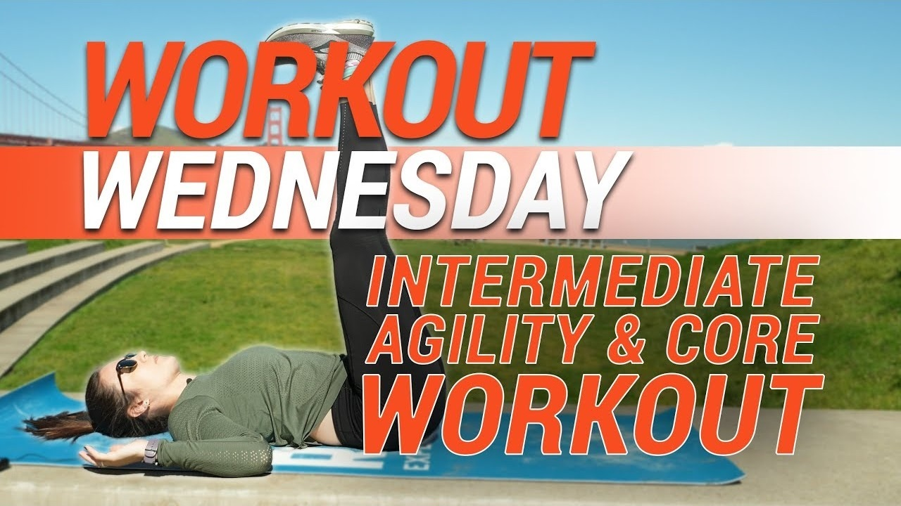 Workout Wednesday | Intermediate Agility & Core Workout