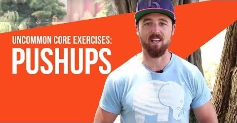 Uncommon Core Exercises for Runners: Pushups
