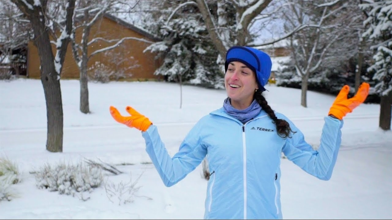 Running In The Snow with Ultra Runner Abby Levene [Pro Moves]