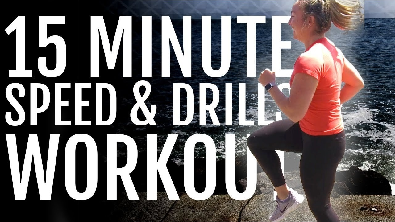 15-Minute Speed And Drill Workout for Runners