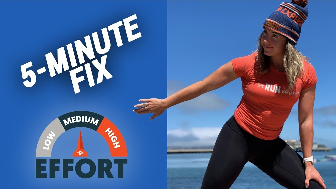 5 Minute Fix for Post Workout Soreness