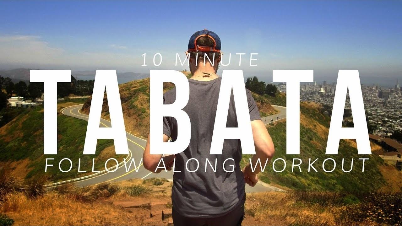 10 Minute Tabata Running Workout [Follow Along!]